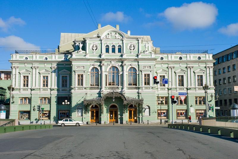 Большой драматический театр им. Товстоногова. Санкт-Петербург