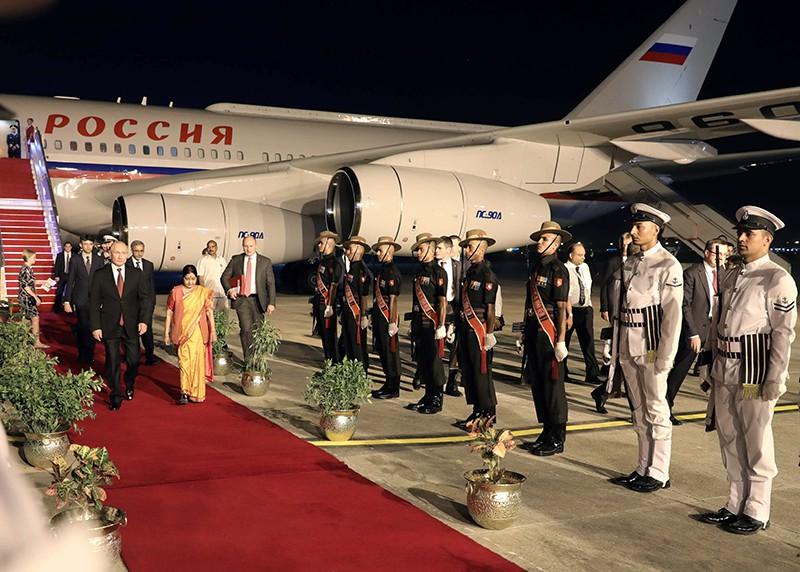 Официальный визит президента России Владимира Путина в Индию