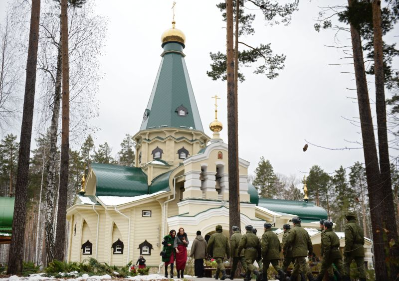 Храм Державной иконы Божией Матери в монастыре Святых Царственных Страстотерпцев
