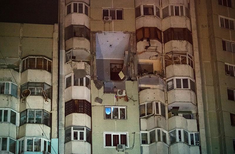 Взрыв в жилом доме в Кишиневе