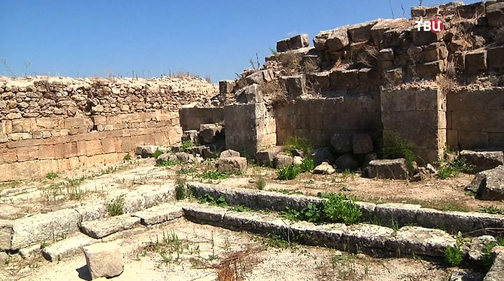 Раскопки древнего Угарита