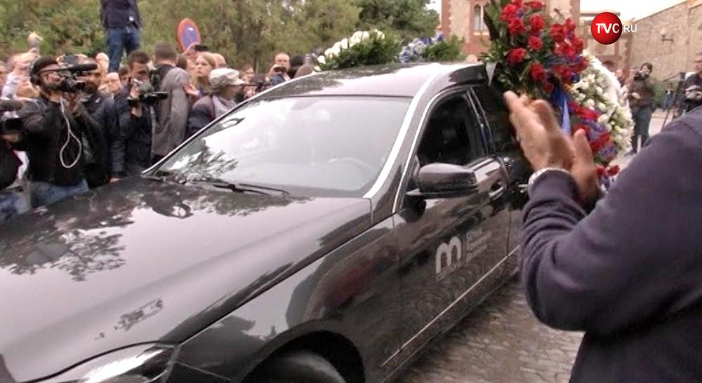 Похороны Монсеррат Кабалье