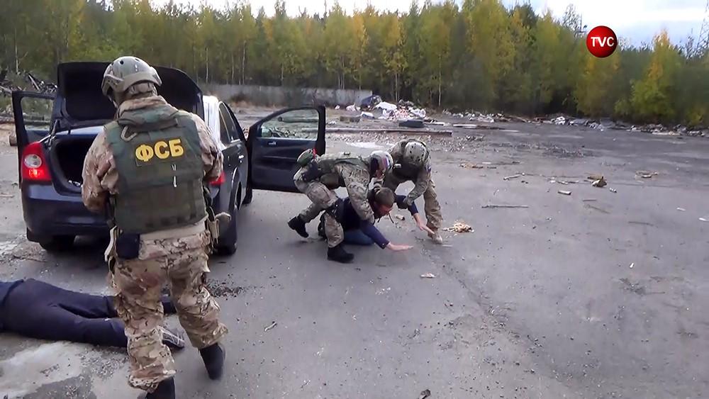 ФСБ проводит задержание