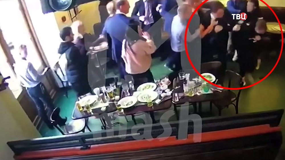 Александр Кокорин устроил драку в кафе