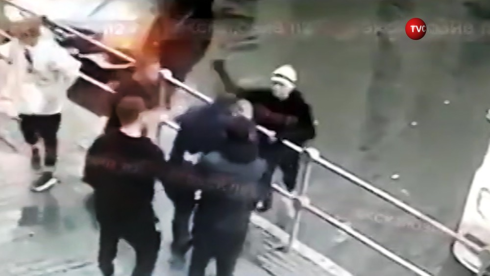 Драка с участием футболистов Павла Мамаева и Александра Кокорина