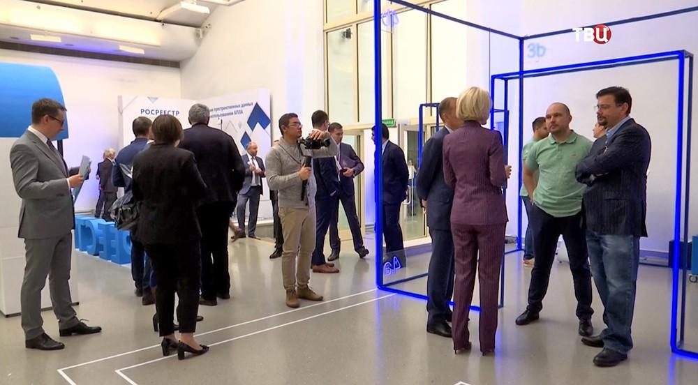 Выставка о традициях и инновациях в работе Росреестра
