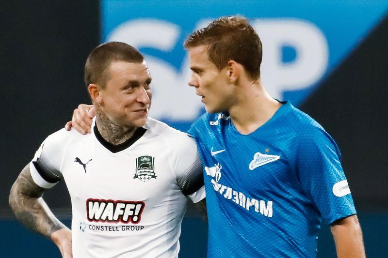 Павел Мамаев (слева) и Александр Кокорин