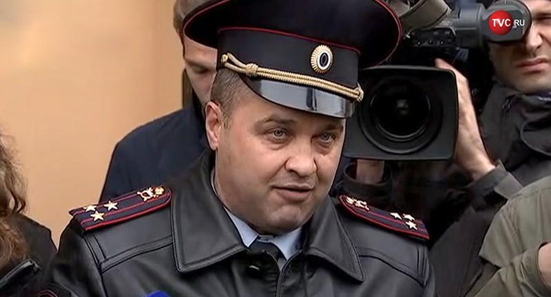 Представитель столичного ГУ МВД Юрий Титов