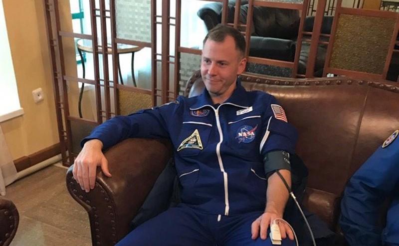 Астронавт Ник Хейг