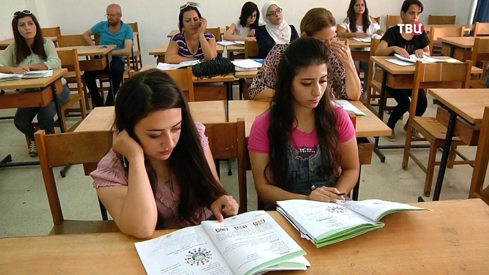 Студенты в Сирии