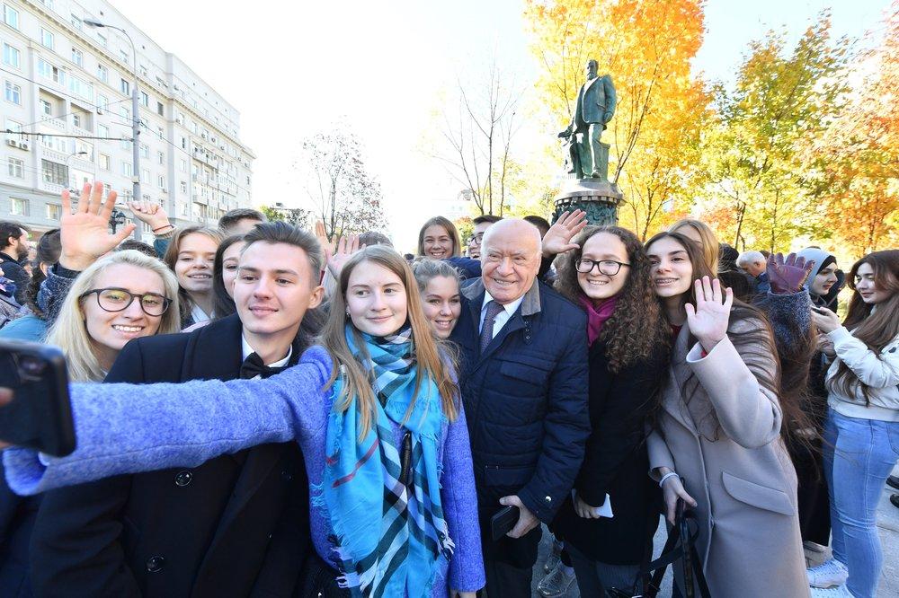Открытие памятника Николаю Склифосовскому