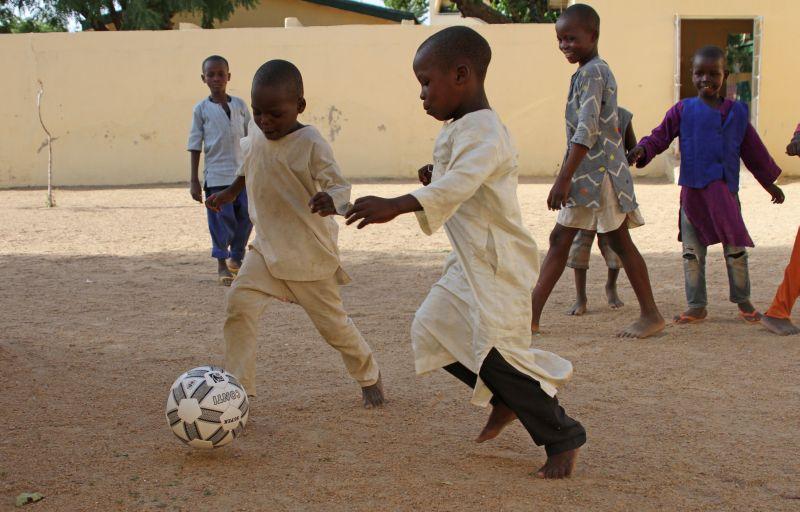 Дети в Нигерии