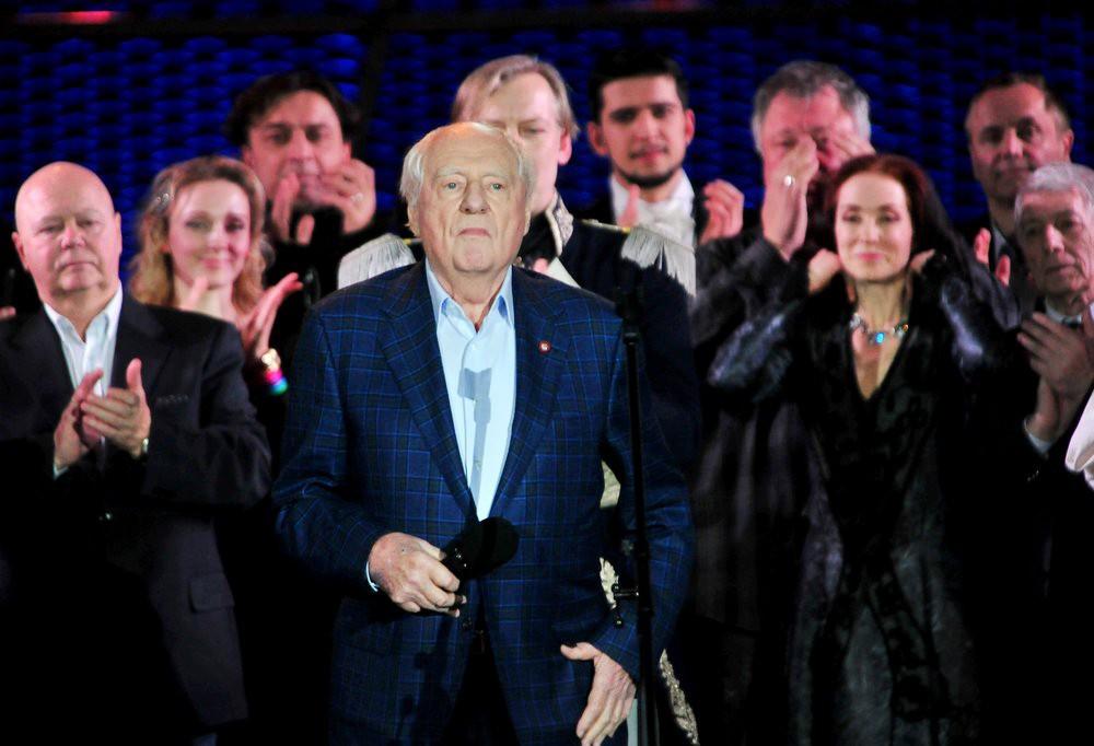 """Худрук театра """"Ленком"""" Марк Захаров"""
