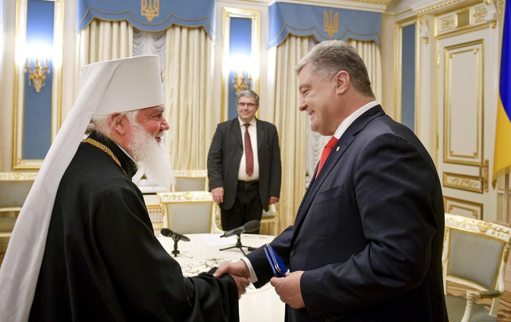 Предстоятель Украинской автокефальной православной церкви митрополит Макарий