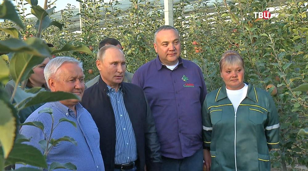 Владимир Путин поздравляет работников отрасли