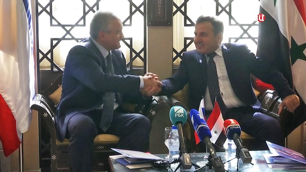 Сергей Аксёнов посетил Сирию