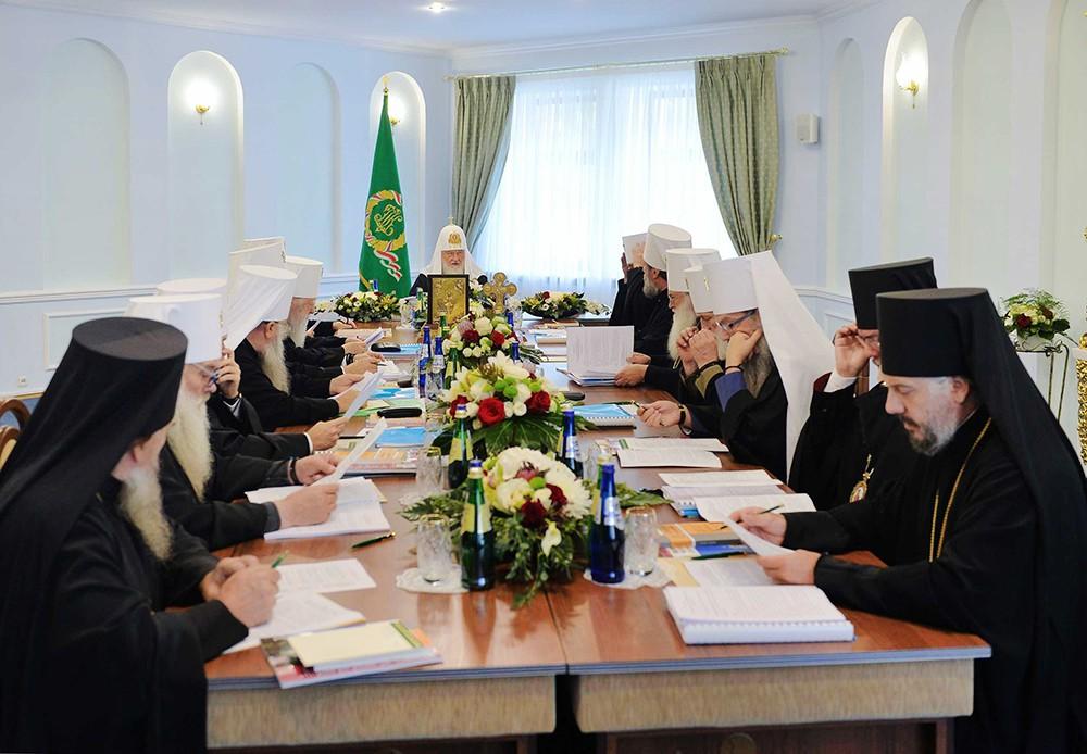 Заседание Священного Синода Русской Православной Церквитавной