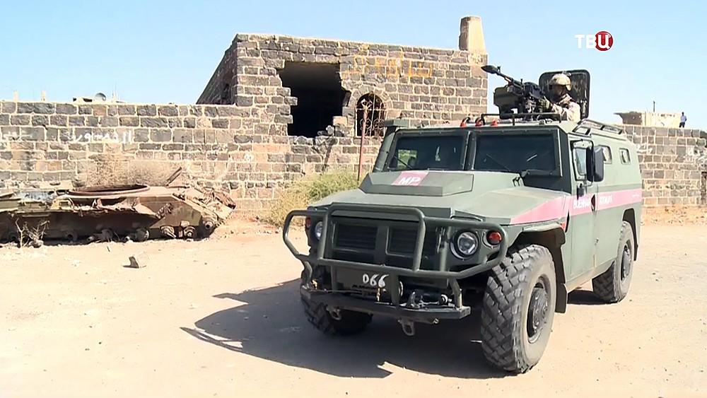 Военная полиция России (МР) в Сирии