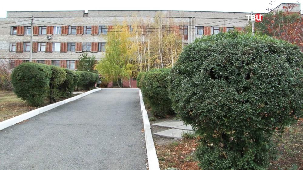 Здание психбольницы в Магнитогорске