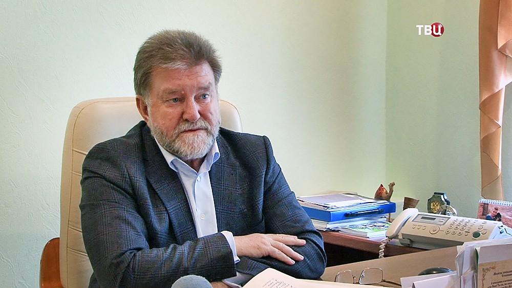 Главврач Психоневрологической больницы №5 города Магнитогорска  Александр Беликов