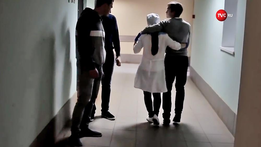 Пострадавшие при взрыве в колледже в Керчи в больнице