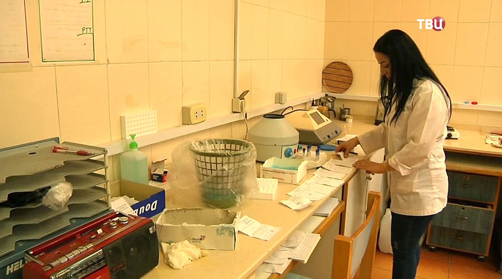 Лаборатория в Сирии