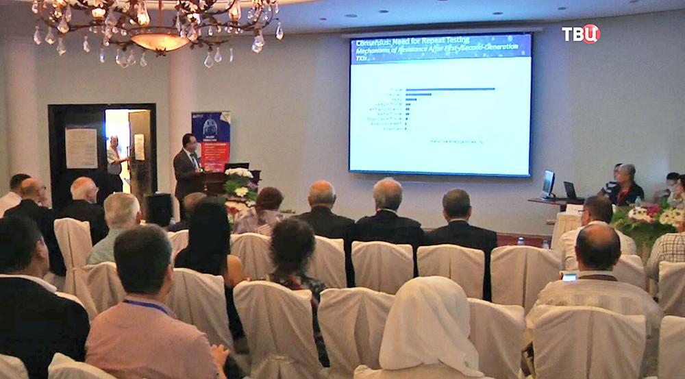 Конференция по борьбе с онкологией в Сирии