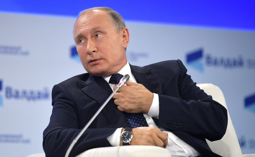 """Выступление Владимира Путина на """"Валдае"""""""
