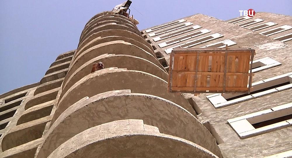 Новый жилой микрорайон в Сирии