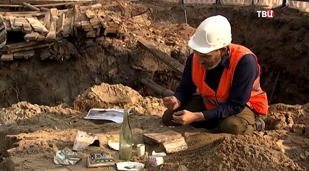 Найденные раскопки