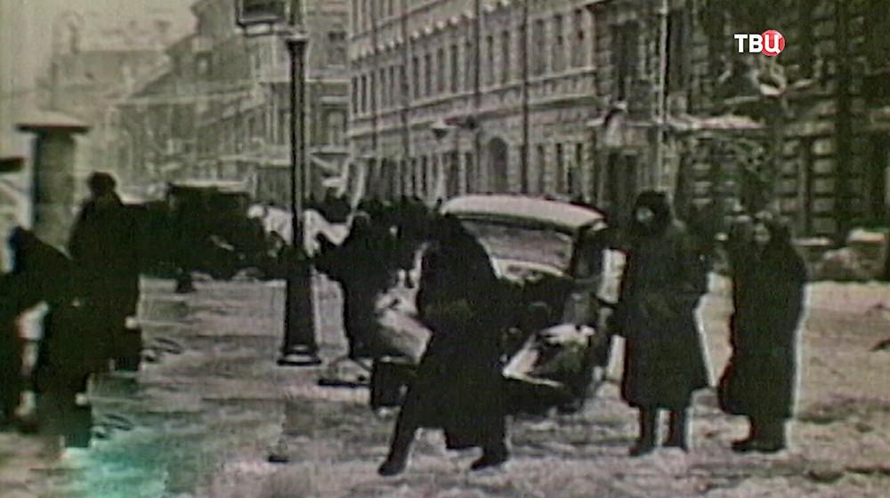 Кадры из советского фильма