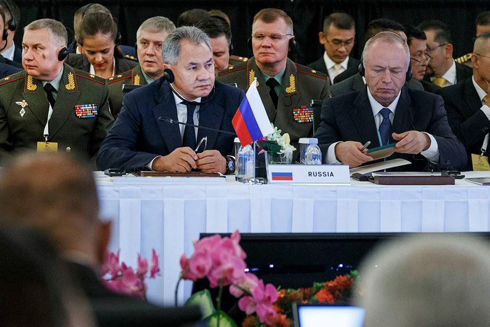 Глава Минобороны России Сергей Шойду