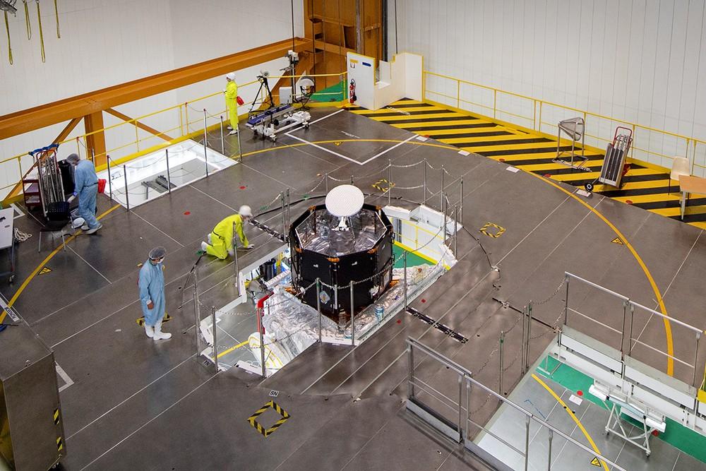 Подготовка спутника по исследованию Меркурия