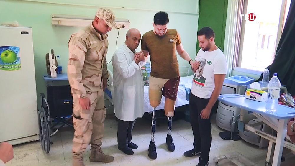 Госпиталь в Сирии