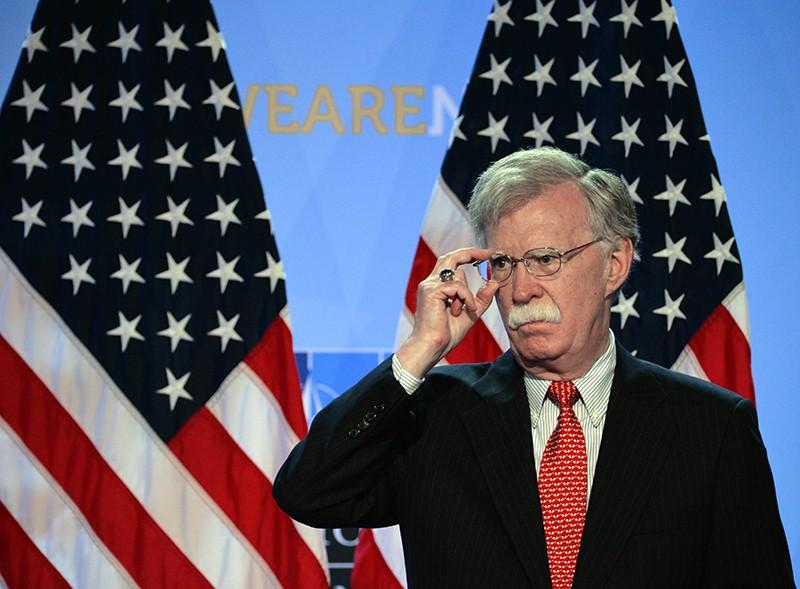 Советник президента США по вопросам национальной безопасности Джон Болтон