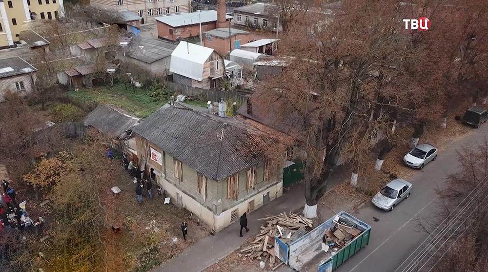 Спасение старинного дома от сноса