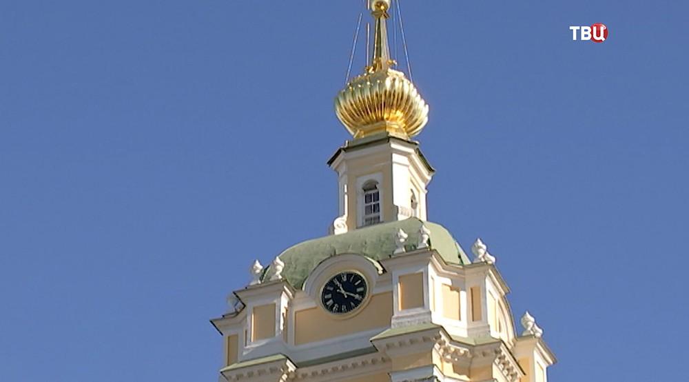 Реставрация Новоспасского монастыря