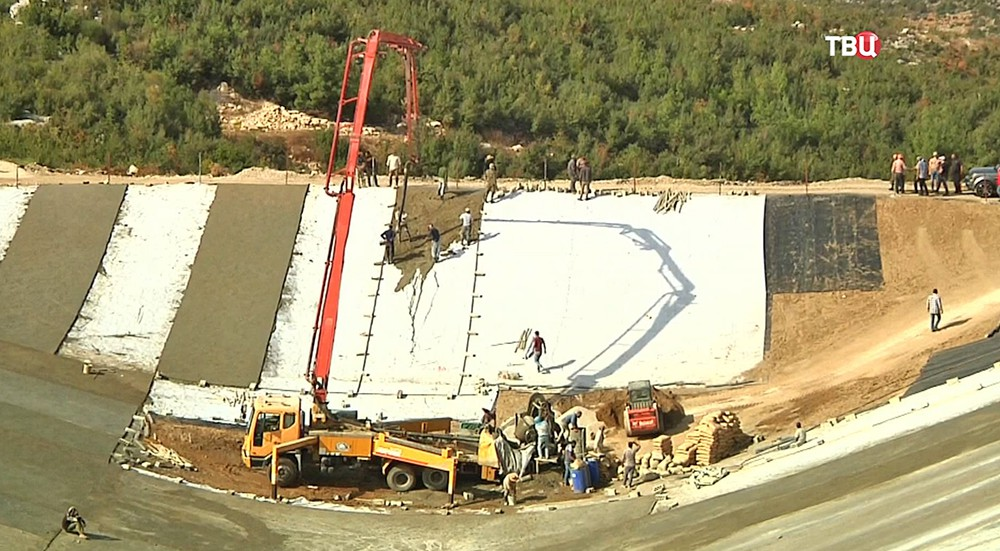 Строительство новых водохранилищ в Сирии