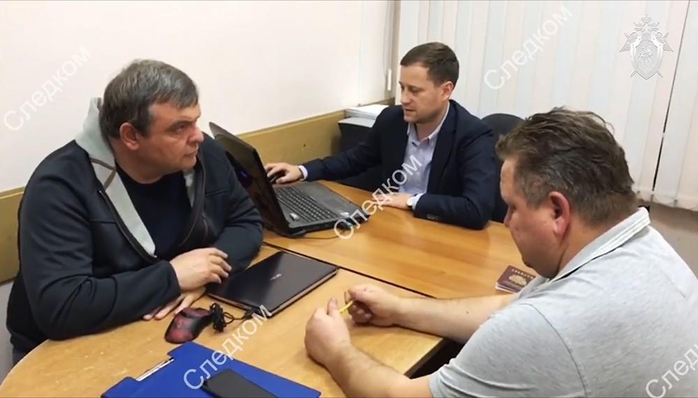 Вице-мэр Сочи Иван Бомбергер в СКР