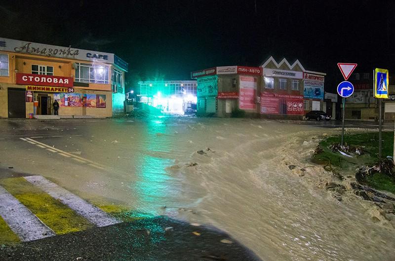 Подтопления в Туапсинском районе Краснодарского края