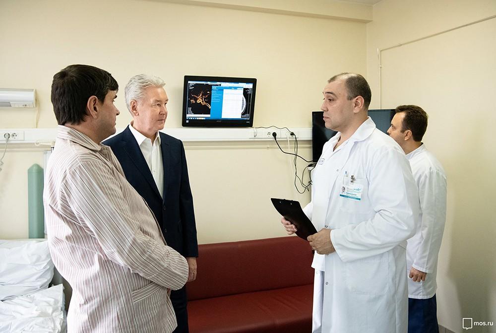 Посещение НИИ скорой помощи имени Склифосовского