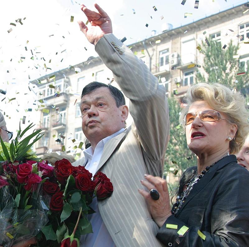 Народный артист России Николай Караченцов и режиссер Светлана Дружинина