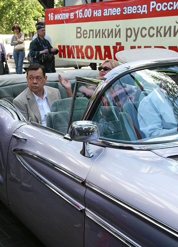 Народный артист России Николай Караченцов с супругой актрисой Любовью Поргиной