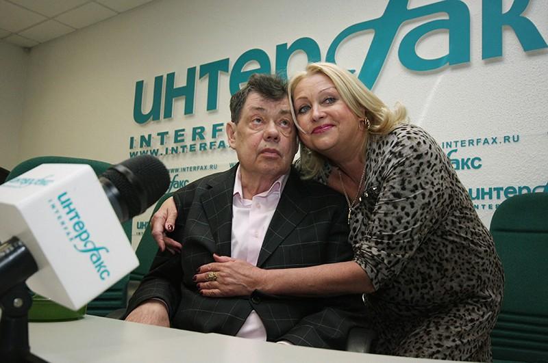 Супруги - народный артист России Николай Караченцов и заслуженная артистка России Людмила Поргина
