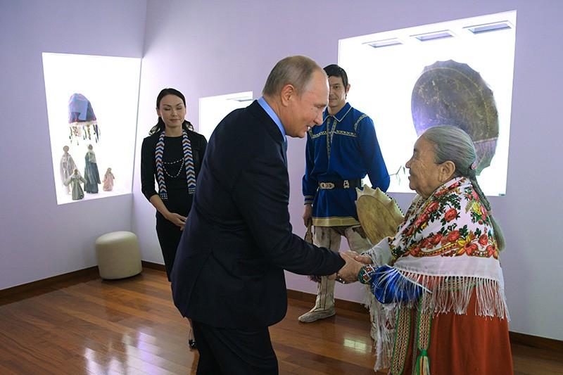 Рабочая поездка Владимира Путина в Ханты-Мансийск