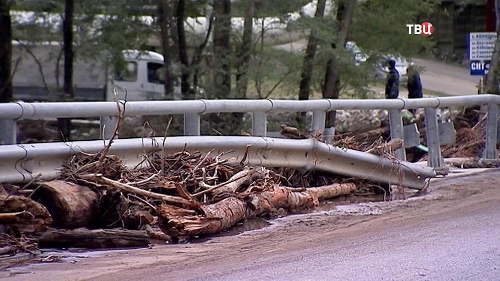 Последствия наводнения в Краснодаре