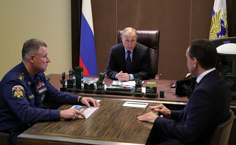 Владимиру Путину представили доклад о ситуации в Краснодарском крае