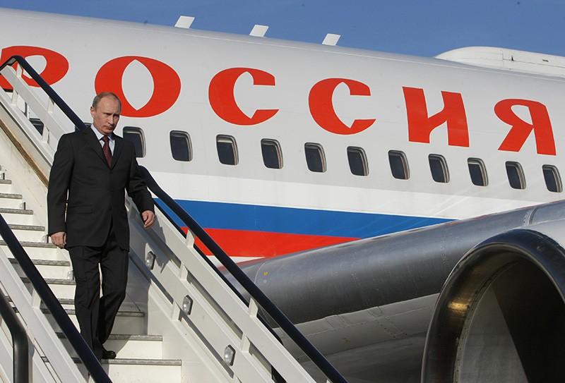 Владимир Путин прибыл в Стамбул