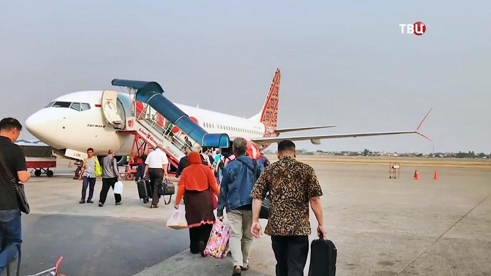 Самолет Boeing 737 MAX авиакомпания Lion Air