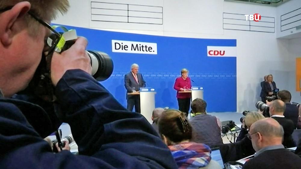Пресс-конференция Ангелы Меркель